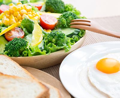 食事でのストレスを軽減